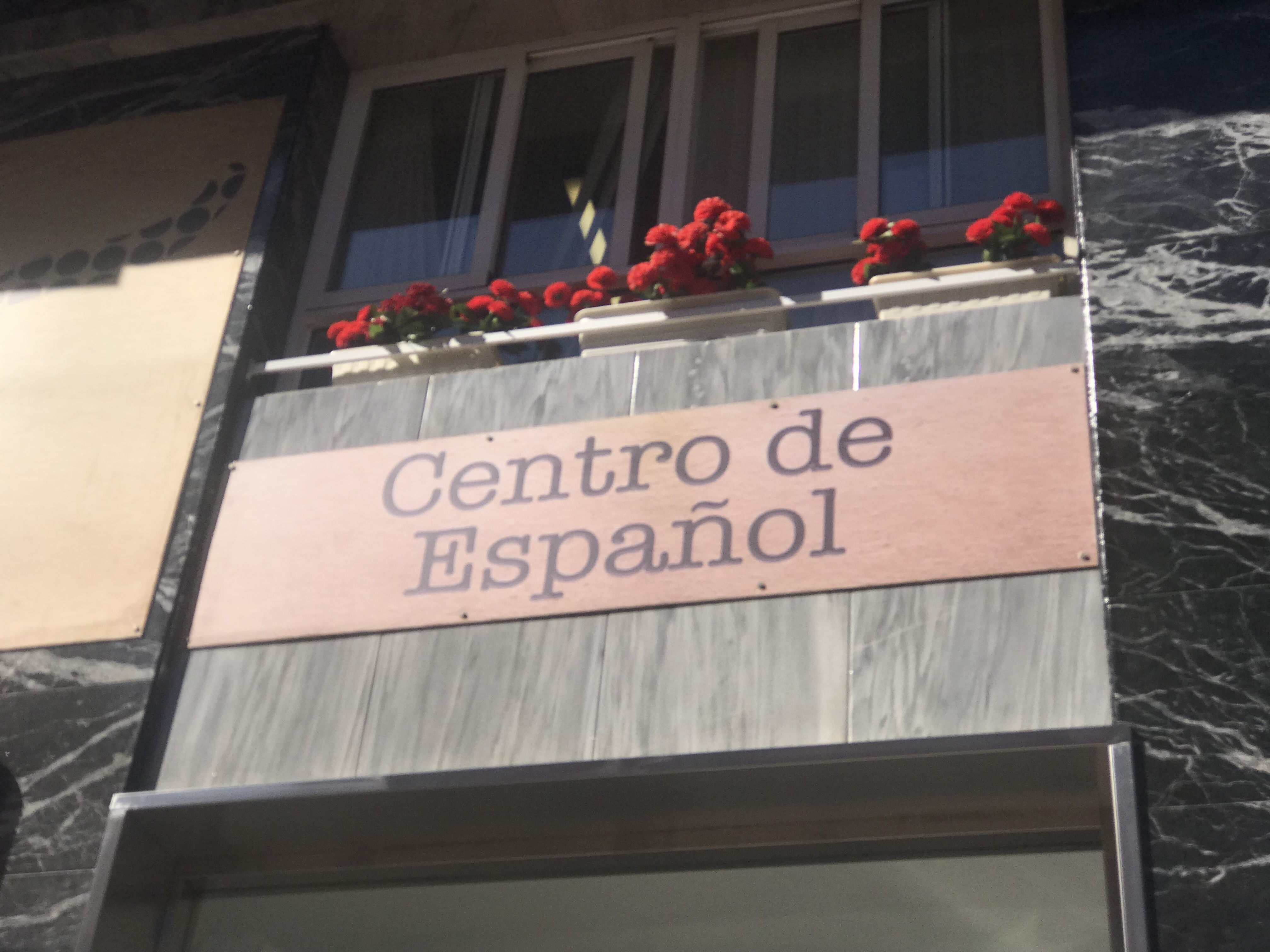 Spanish language academy in Murcia city center, Spain